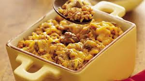wild rice and beef casserole recipe bettycrocker com