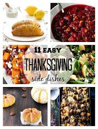 11 easy thanksgiving side dishes as easy as apple pie