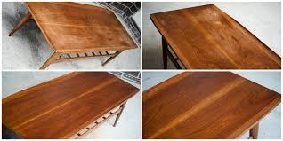 table mid century modern surfboard coffee table small kitchen