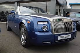 roll royce blue used rolls royce phantom drophead 2dr auto sold for sale in