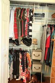 pretty small closet ideas with well organization for the kids