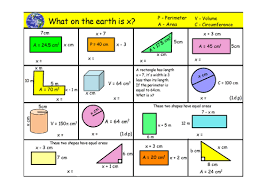 maths algebra and shapes worksheet by steele1989 teaching
