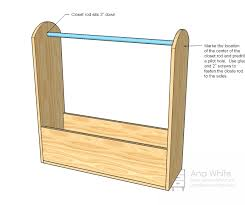 Plans For Child S Wooden Toy Box by Ana White Craftiness Is Not Optional U0027s Dress Up Storage Diy