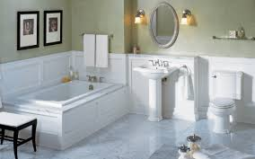 bathroom 2017 astounding home interior remodeling bathrooms bathroom 2017 astounding home interior remodeling bathrooms showing white wooden wainscoting exclusive pedestal wastafel under oval wall mirror as well as
