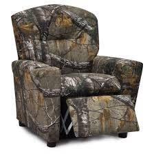 Youth Recliner Chairs Kidz World Real Tree Camouflage Recliner Walmart