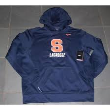 nike new syracuse orange therma fit ko hoodie sweatshirt medium