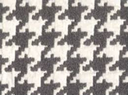Upholstery Weight Fabric Houndstooth Grey And Ivory Classic Houndstooth Heavy Weight Woven