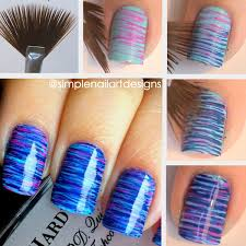 fan brush nail art tutorial video tutorial http www youtube