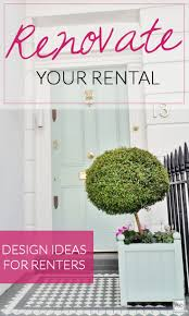 renovate your rental progression by design