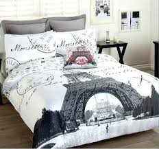 Passport Bed Set Paris Quilt Cover Set Quilts Paris Double Duvet Cover Set Paris
