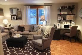 office in living room exquisite ideas desk in living room wondrous design 1000 ideas