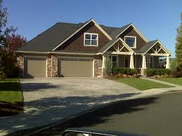 exterior 1000 images about craftsman style homes with garage door
