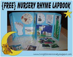 nursery rhymes tot series free printables