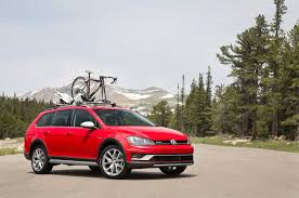 vw volkswagen 2017 2017 vw golf alltrack review