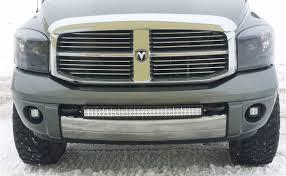 Led Fog Light Bar by Dodge Ram 1500 02 08 Hd 03 15 Elite Series 30 Inch Curved Dual