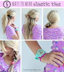 elastic hair ties diy elastic hair ties twist me pretty