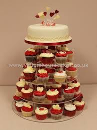 ruby wedding cakes our bespoke wedding cakes vallum house cakes