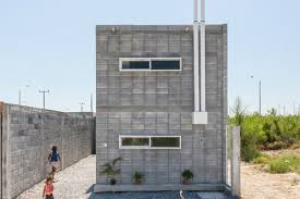 Building A Concrete Block House In Mexico Blocks Of Concrete Become Practical Starter Homes Curbed