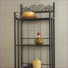 What Do You Put On A Bakers Rack Kitchen Room Bakers Rack Pictures Decorative Metal Bakers Rack