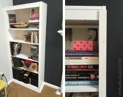 how to design a bookshelf how to make a laminate bookcase look like a built in bookshelf