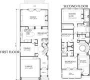 narrow lot 2 story house plans home plan d4141
