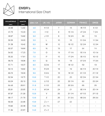 men ring size men s wedding bands ring sizing chart by embr