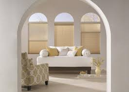 Curtain Ideas For Curved Windows Arched Window Treatments U0026 Coverings Budget Blinds