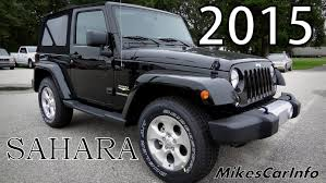 jeep sahara 2017 colors 2015 jeep wrangler sahara black youtube
