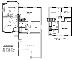 Split Floor Plan House Plans Floor Plans For Split Level Homes