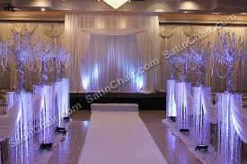 wedding backdrop arch rent a winter icicle fairytale lights backdrop