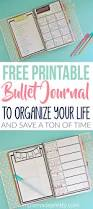free printable bullet journal pages free printables bullet and