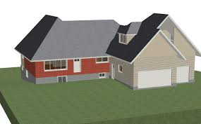 Home Designer Pro Gable Roof by How To Change Roof Pitch Between Existing House And Garage 2nd