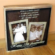 50th wedding anniversary photo album 50th wedding anniversary gift personalized photo collage