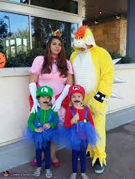 Mario Halloween Costumes Girls Super Mario Family Costume Works
