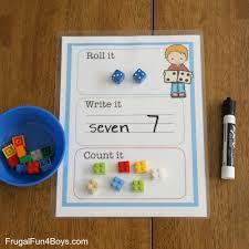 roll it write it count it mats