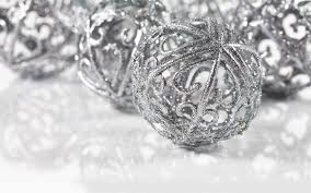 silver ornaments wallpaper 8575 1920 x 1200