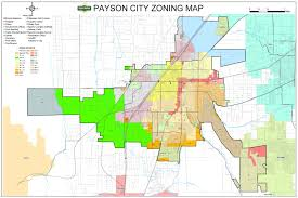 Utah County Map by Planning And Zoning U2013 Payson