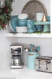 Cottage Style Kitchen Accessories - a lake cottage christmas christmas in the kitchen lakes