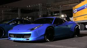 ferrari 458 liberty walk justin bieber u0027s ferrari 458 liberty walk by west coast customs at