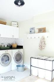 White Laundry Room Wall Cabinets White Laundry Room Laundry Room With White Wall Cabinets In The
