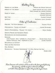wedding ceremony bulletin template 29 best wedding order of service images on catholic