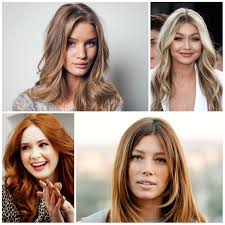 2017 hair color trends by celebrities new hair color ideas