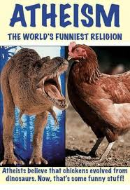 Funny Dinosaur Meme - atheism the world s funniest religion atheists believe that
