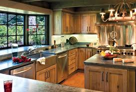 Solid Pine Kitchen Cabinets Rustic Kitchen Cabinets With Large Capacities We Bring Ideas