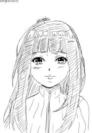 here u0027s my version of hinata she u0027s my favorite naruto character