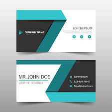 green label corporate business card name card template