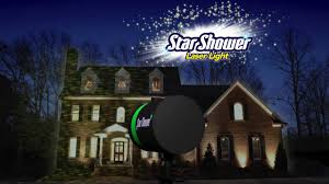 Laser Christmas Lights Projectors by Star Shower Outdoor Laser Christmas Lights Star Projector By