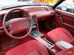 1993 mustang lx interior 1993 ford mustang lx convertible photo 53346769