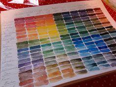 color mixing charts color mixing chart acrylics and watercolor