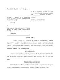 dog bite sample complaint damages negligence